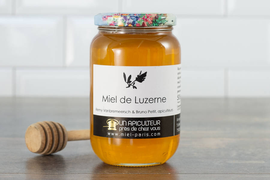 Miel de luzerne 500 g - Un apiculteur près de chez vous - La Ruche qui dit Oui ! à la maison