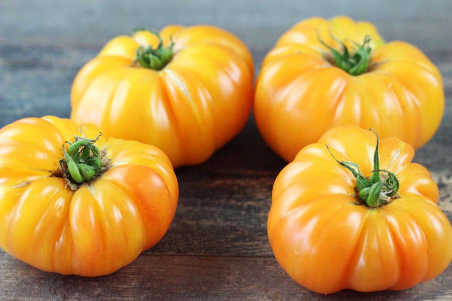Tomate ancienne ananas - Les Saveurs de Chailly - La Ruche qui dit Oui ! à la maison
