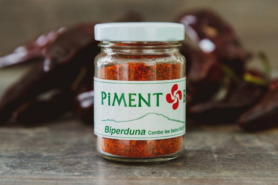 Poudre de Piment Basque BIO 40g - Biperduna - La Ruche qui dit Oui ! à la maison