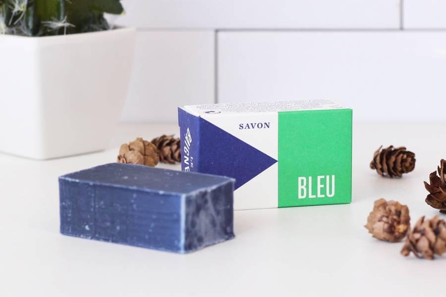 Amuse-douche savon Bleu - Le Baigneur - La Ruche qui dit Oui ! à la maison
