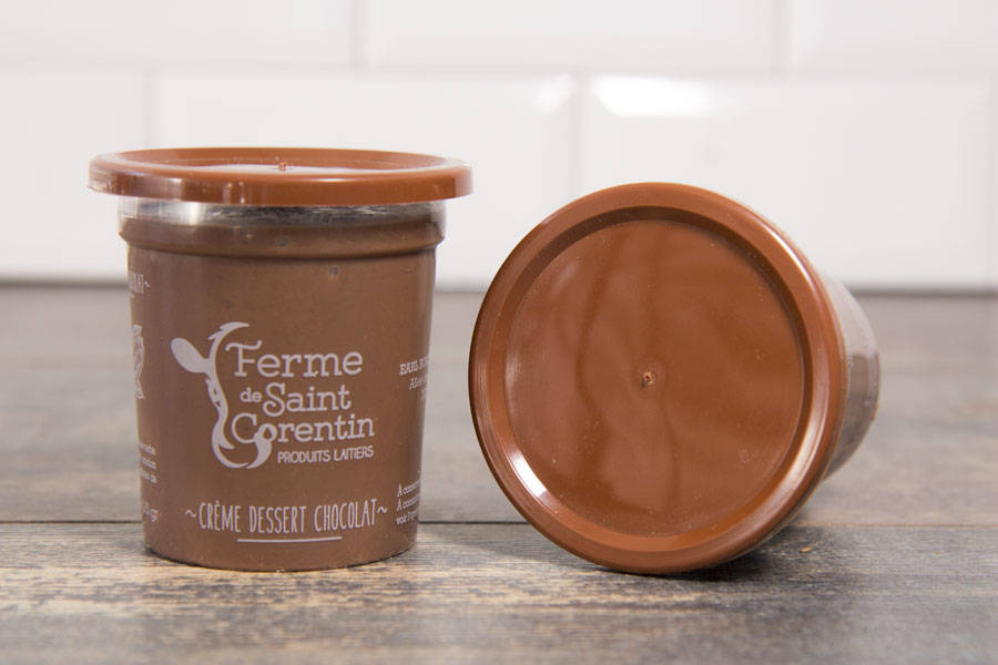 Crème dessert chocolat - Ferme de Saint Corentin - La Ruche qui dit Oui ! à la maison