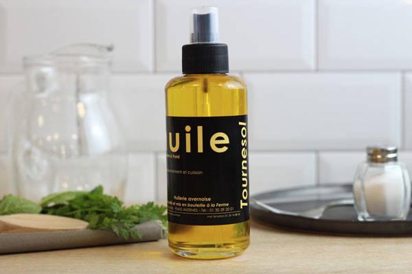 Vaporisateur huile de tournesol  - Huilerie Avernoise