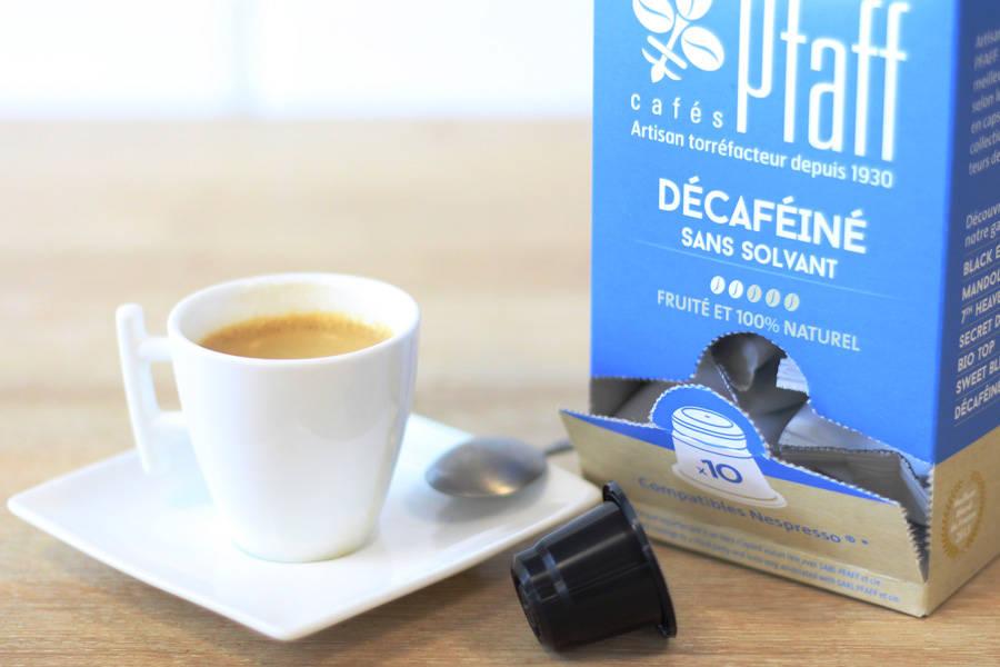 Décaféiné - Capsules - Cafés Pfaff - La Ruche qui dit Oui ! à la maison