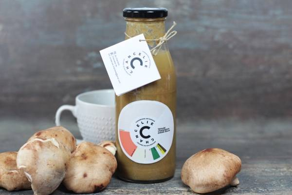 Velouté champignon patate douce - Chancelie - Le Comptoir Local