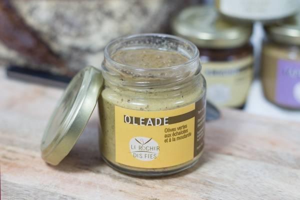 Oléade olives vertes échalote moutarde - Le rocher des fées - Le Comptoir Local