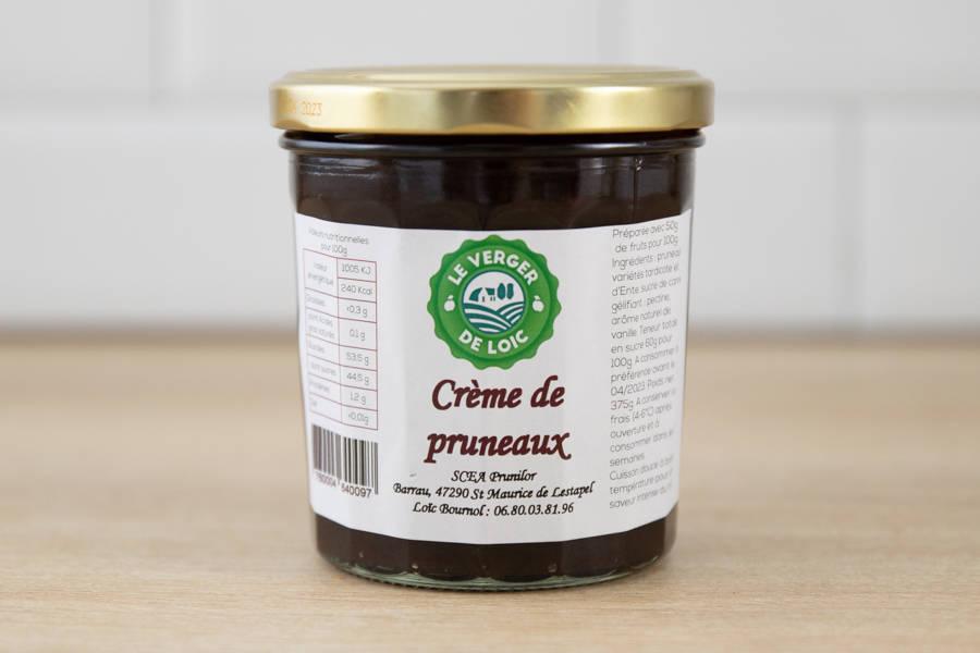 Crème de pruneaux - Le Verger de Loïc - La Ruche qui dit Oui ! à la maison