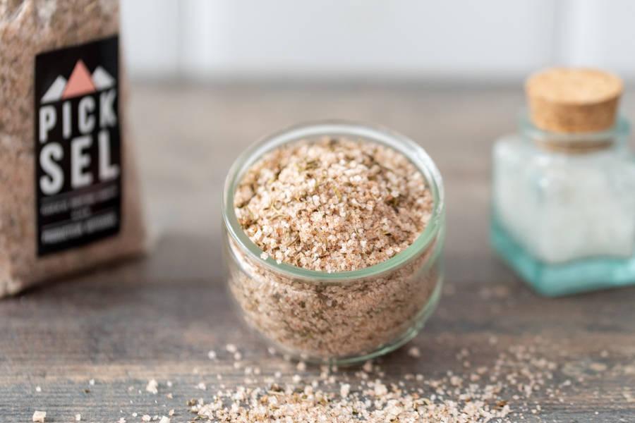 Fleur de sel piment doux et  sarriette - PickSel - La Ruche qui dit Oui ! à la maison