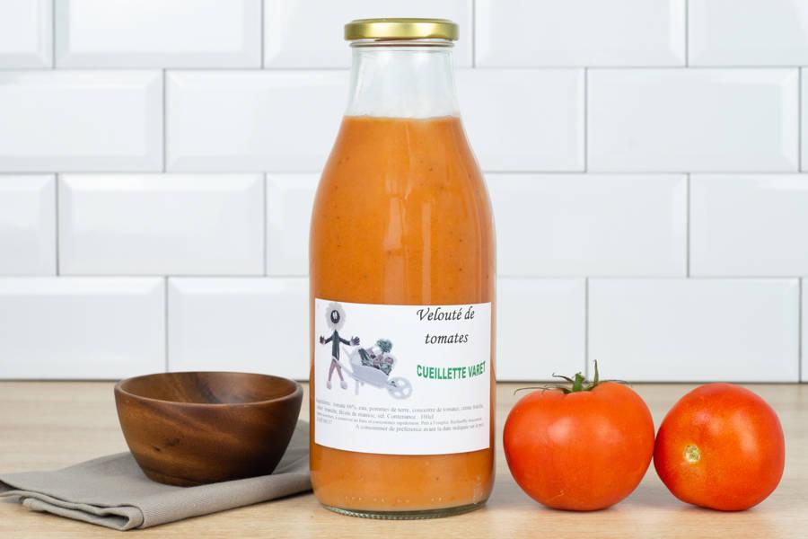Velouté de tomate - Conserverie de la cueillette Varet - La Ruche qui dit Oui ! à la maison