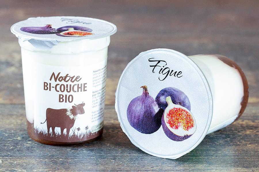 Yaourt bi-couche figue BIO - La Fromentellerie - La Ruche qui dit Oui ! à la maison