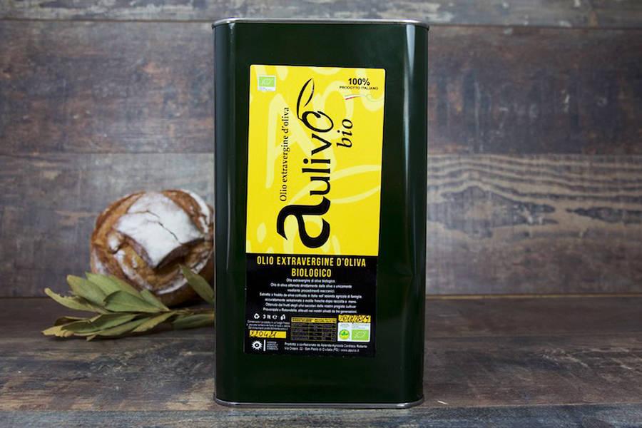 Huile d'olive extra-vierge 3L BIO - Antonio Cordisco - La Ruche qui dit Oui ! à la maison