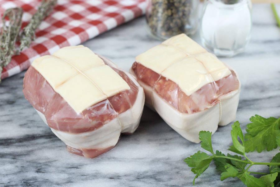Paupiettes de porc façon Orloff - Ferme Courtois - La Ruche qui dit Oui ! à la maison