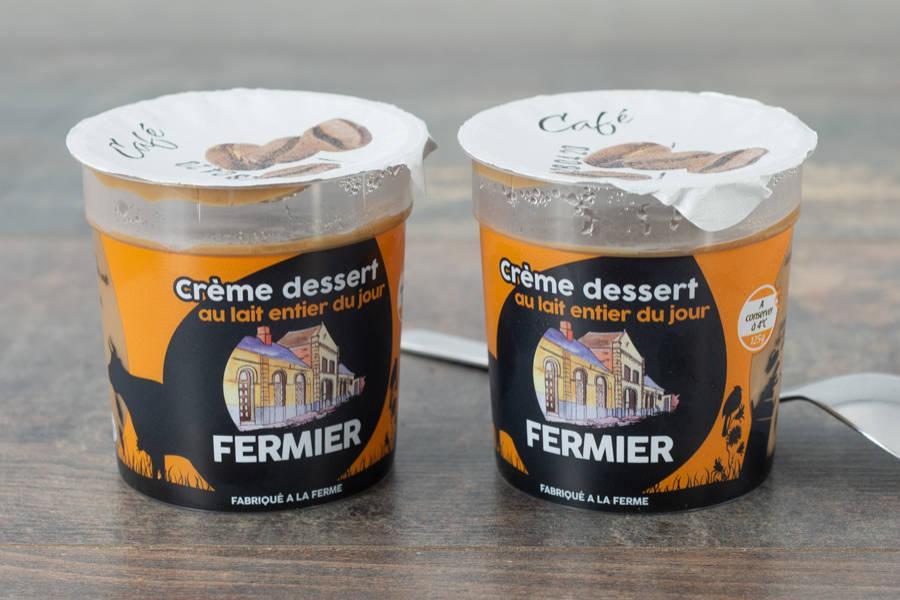 Crème Dessert Café - Ferme du Sire de Créquy - La Ruche qui dit Oui ! à la maison