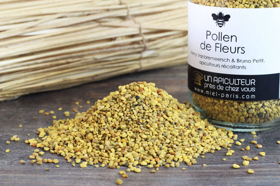 Pollen de Fleurs 500g - Un apiculteur près de chez vous - La Ruche qui dit Oui ! à la maison