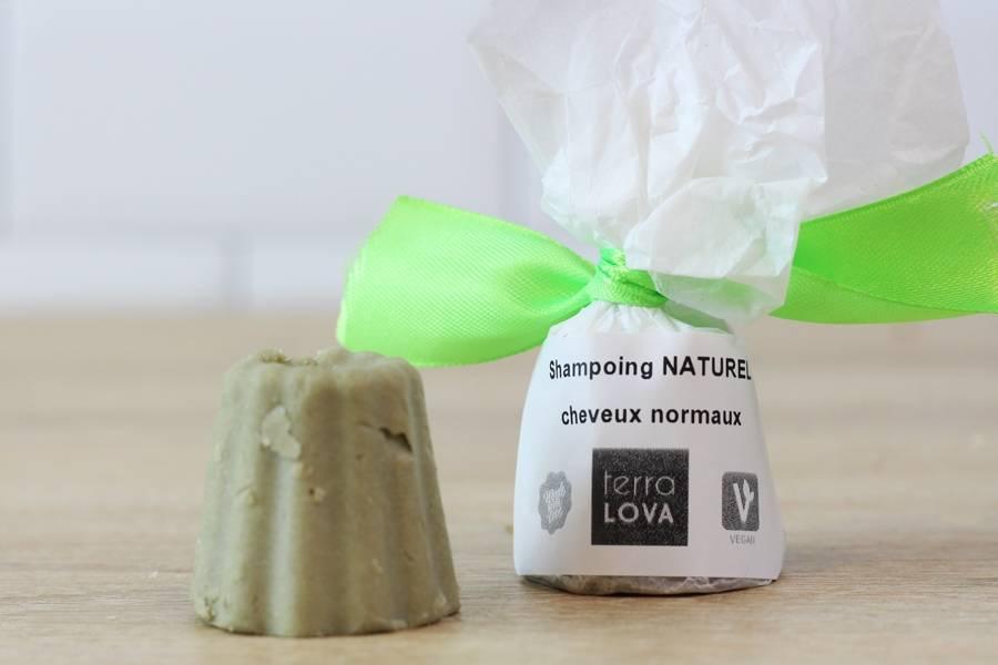 Shampoing savon Olive et argile verte - Mini  - Terra Lova - La Ruche qui dit Oui ! à la maison