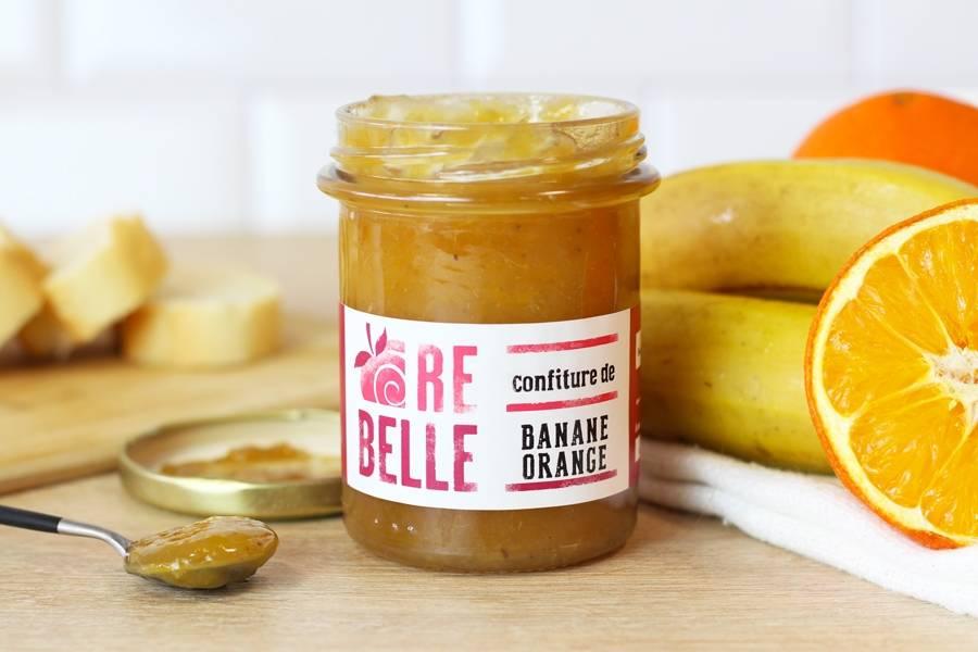 Confiture Banane Orange - Re-Belle - La Ruche qui dit Oui ! à la maison