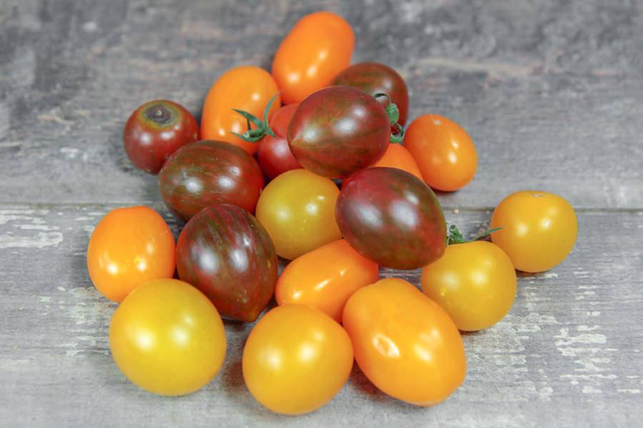 Mélange tomates cerises multicolores - Le Potager d'Olivier - La Ruche qui dit Oui ! à la maison