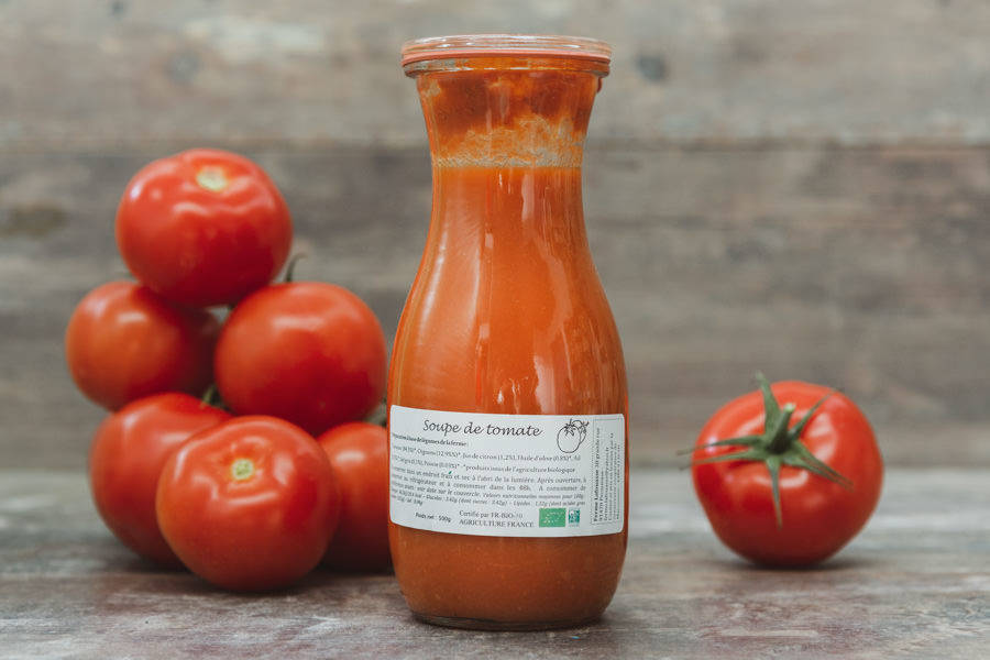 Soupe de Tomate BIO - Ferme Lafouasse - La Ruche qui dit Oui ! à la maison