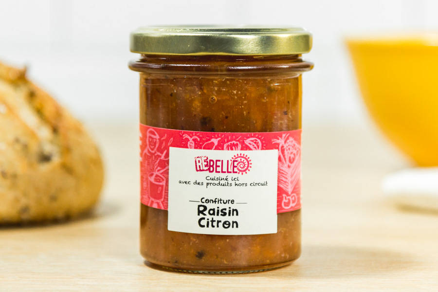 Confiture Citron Raisin - Re-Belle - La Ruche qui dit Oui ! à la maison