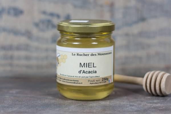 Miel d'acacia - Rucher des Mousseaux