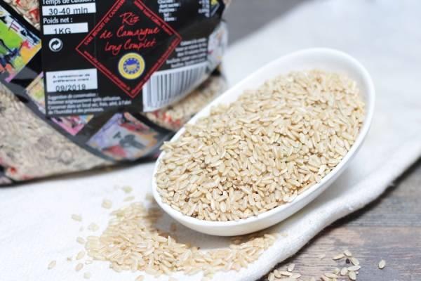 Riz de Camargue long complet étuvé 1kg - Riz de Canavere