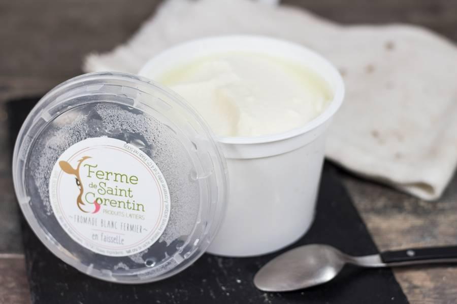 Fromage blanc en faisselle - Ferme de Saint Corentin - La Ruche qui dit Oui ! à la maison