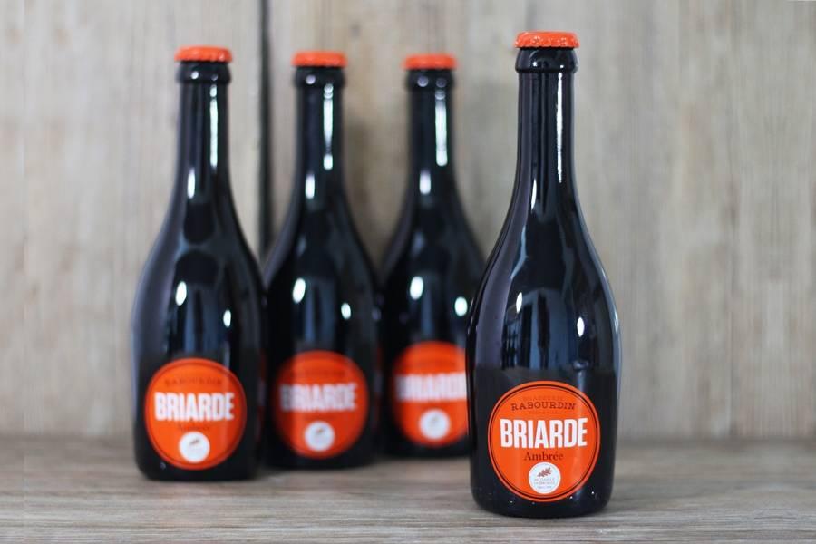 Briarde Ambrée - Brasserie Rabourdin - La Ruche qui dit Oui ! à la maison