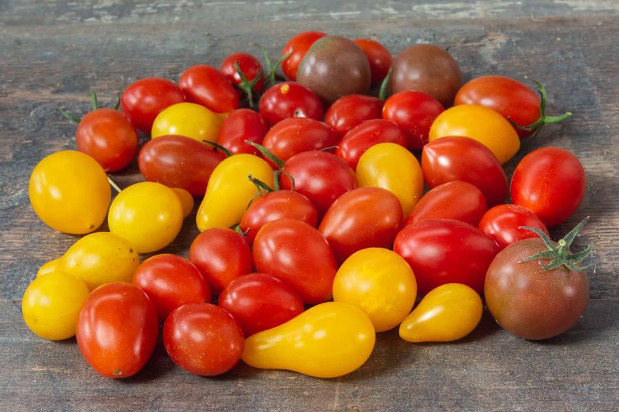 Mélange de tomates cerises BIO - Les Légumes de Planche - La Ruche qui dit Oui ! à la maison