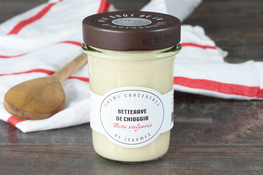 Crème de betterave de Chioggia - Umile - La Ruche qui dit Oui ! à la maison