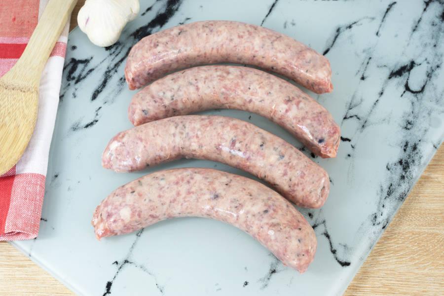 Saucisses de porc olive & thym - Ferme les Barres - La Ruche qui dit Oui ! à la maison