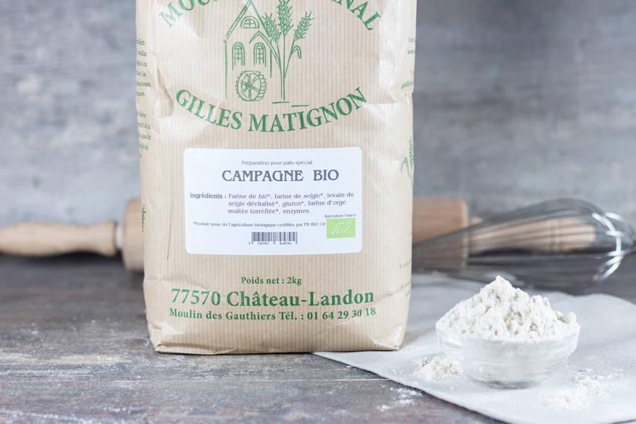 Mixe campagne BIO - Moulin artisanal Gilles Matignon - La Ruche qui dit Oui ! à la maison
