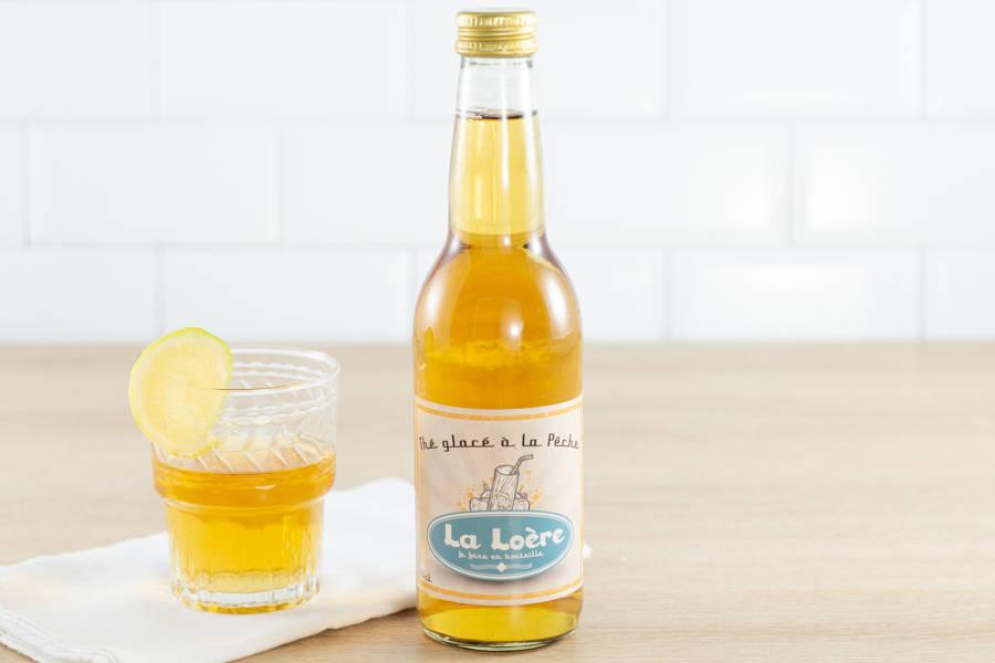 Thé glacé BIO 33 cL - La Loère - La Ruche qui dit Oui ! à la maison