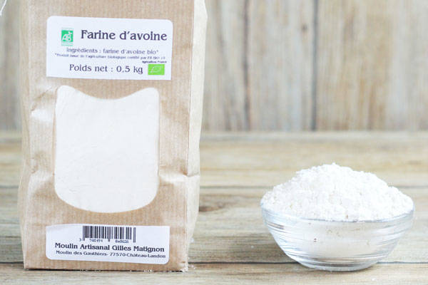 Farine d'avoine BIO - Moulin artisanal Gilles Matignon
