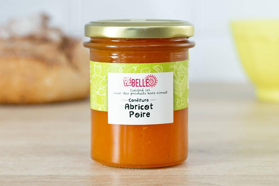 Confiture Abricot Poire - Re-Belle - La Ruche qui dit Oui ! à la maison