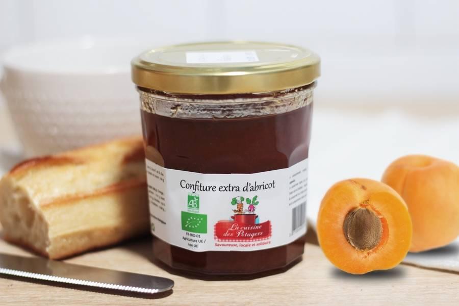 Confiture abricot BIO - Conserverie coopérative de Marcoussis - La Ruche qui dit Oui ! à la maison