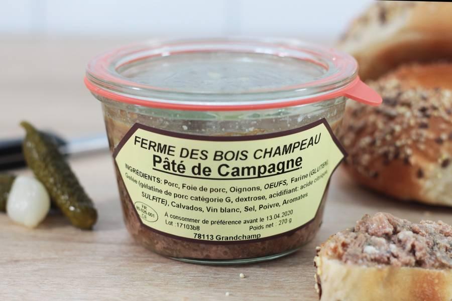 Pâté de campagne - Ferme de Bois champeau - La Ruche qui dit Oui ! à la maison