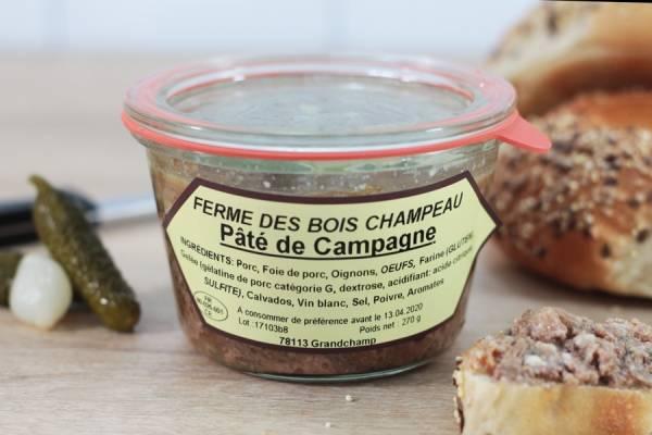 Pâté de campagne - Ferme de Bois champeau