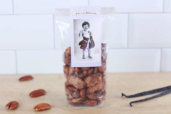 Pralines aux noix de pécan  - Fifi la Praline