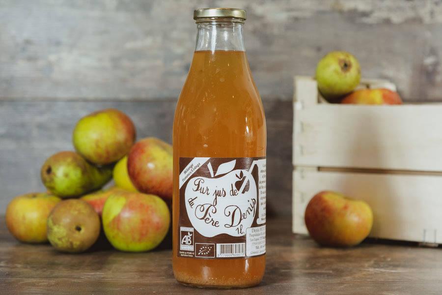 Jus de Pomme Coing BIO - Le Père Denis - La Ruche qui dit Oui ! à la maison