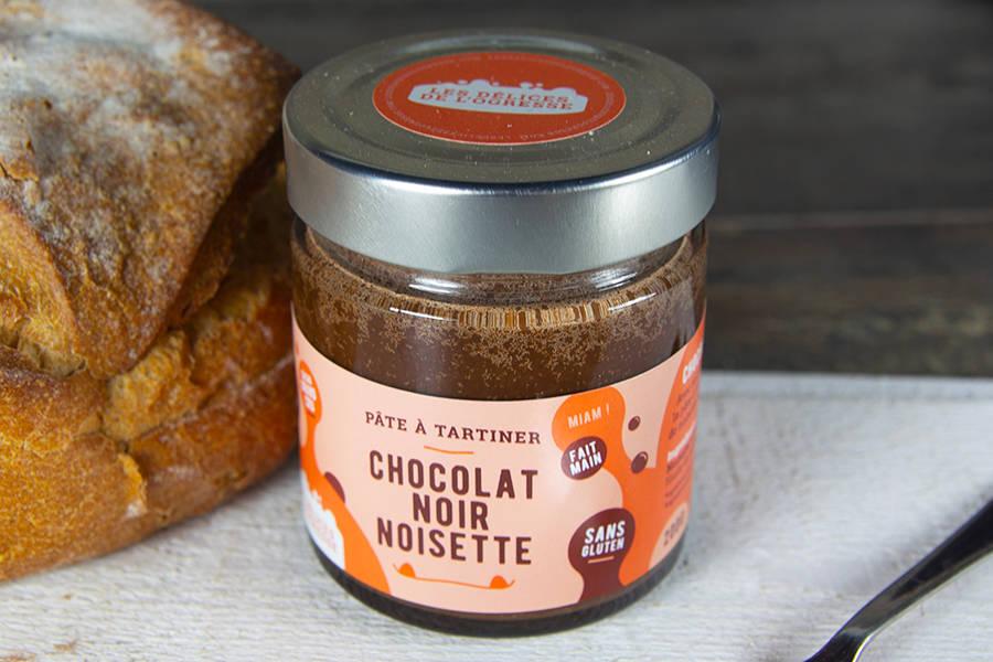 Pâte à tartiner Chocolat Noir - Noisette BIO - Les Délices de l'Ogresse - La Ruche qui dit Oui ! à la maison