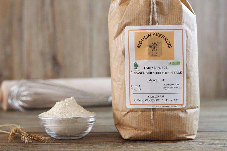 Farine de blé 1Kg - Huilerie Avernoise - La Ruche qui dit Oui ! à la maison