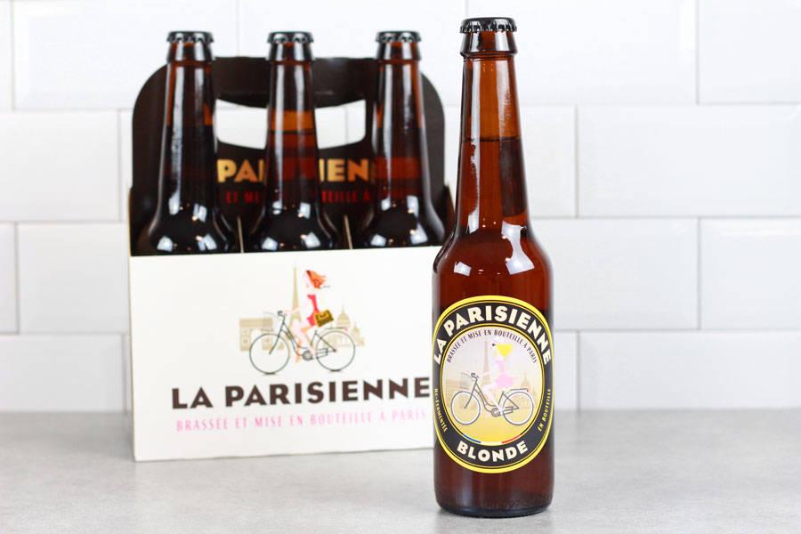 Bière Blonde - Brasserie La Parisienne - La Ruche qui dit Oui ! à la maison