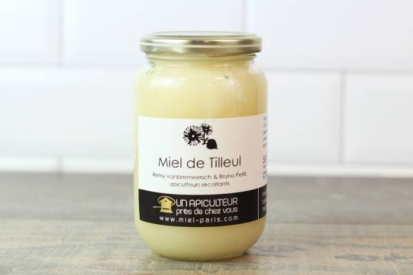 Miel de Tilleul 500g - Un apiculteur près de chez vous