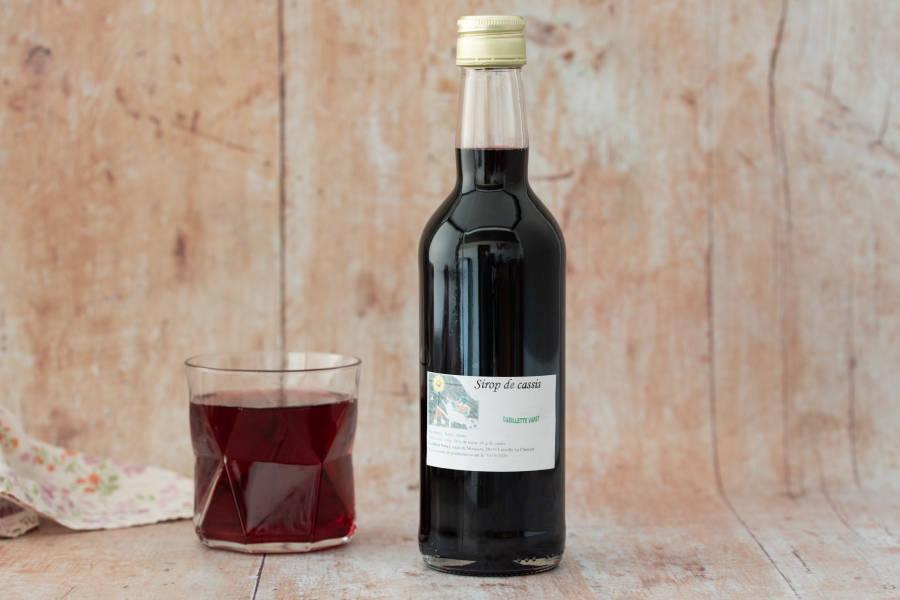 Sirop de Cassis - Conserverie de la cueillette Varet - La Ruche qui dit Oui ! à la maison