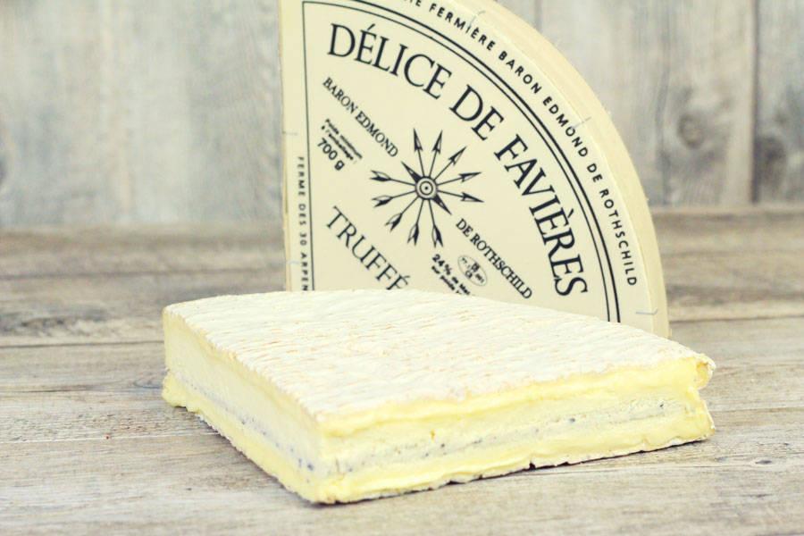 Quart de délice de Favières truffé - Domaine des 30 Arpents - La Ruche qui dit Oui ! à la maison