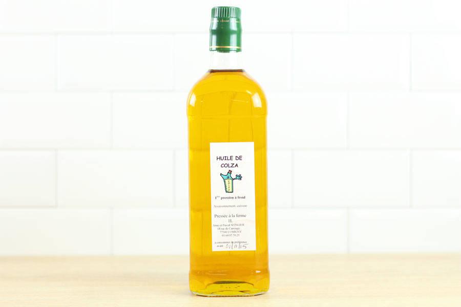 huile colza maison