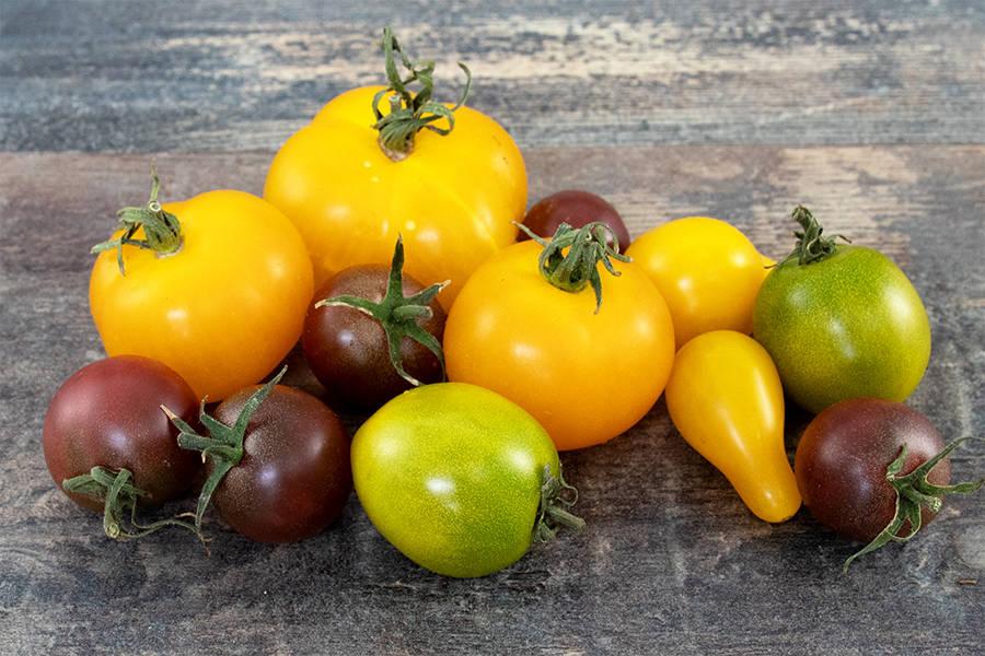 Tomate Cocktail BIO - Les jardins de Courances - La Ruche qui dit Oui ! à la maison