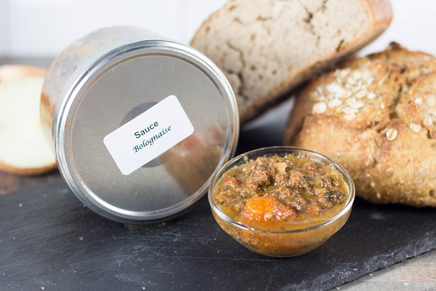 Sauce bolognaise - Ferme les Barres - La Ruche qui dit Oui ! à la maison