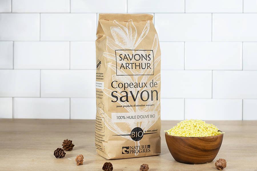 Copeaux de savon à l'huile d'olive (750g) - Savons Arthur - La Ruche qui dit Oui ! à la maison