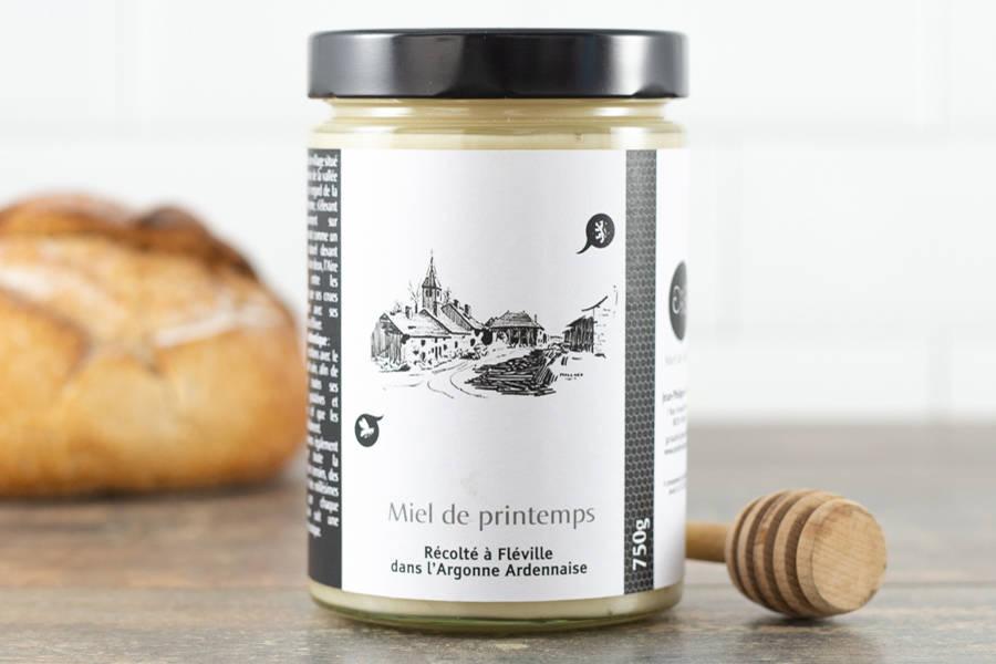 Miel de printemps d'Argonne 750 g - Miel de village - La Ruche qui dit Oui ! à la maison