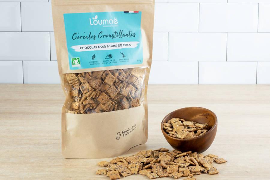 Céréales BIO - chocolat & noix de coco - Loumaë - La Ruche qui dit Oui ! à la maison